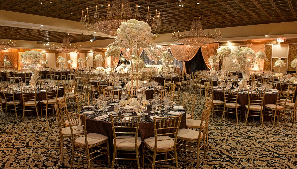 Wedding Banquet Halls Reception Venue Chicago Suburbs Fountain Blue